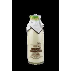 Молоко цельное КОЗЬЕ питьевое пастеризованное мдж 2,8-5,6%