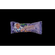Сырок творожный глазированный в шоколадной глазури с черникой 16,5 (в творожной основе12%) Пленка