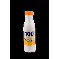 Йогурт фруктовый с наполнителем «Земляника» массовая доля жира 2,5% 330 г Бутылка ПЭ