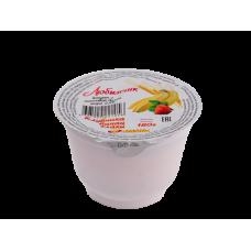 Йогурт фруктовый с наполнителем «Клубника-банан-злаки» массовая доля жира 2,5% 180г Стакан из полипропилена